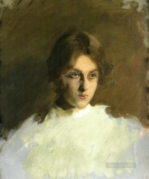 Portrait of Edith French John Singer Sargent Oil Paintings