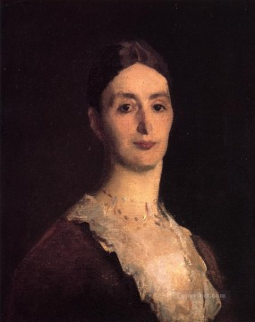 Portrait of Frances Mary Vickers John Singer Sargent Oil Paintings