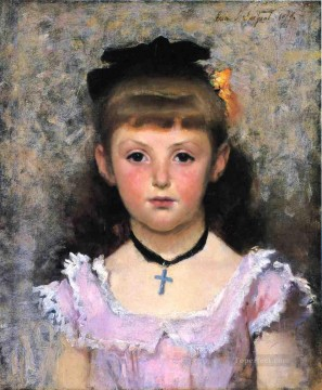 Portrait of Jeanne Kieffer John Singer Sargent Oil Paintings