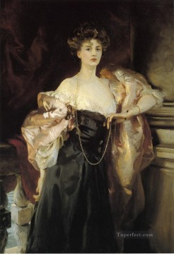Countess Art - Portrait of Lady Helen Vincent Viscountess dAbernon John Singer Sargent