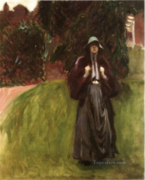 Portrait of Miss Clementina Austruther Thompson John Singer Sargent Oil Paintings