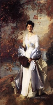 Portrait of Pauline Astor John Singer Sargent Oil Paintings