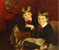 Portrait of Two Children aka The Forbes Brothers John Singer Sargent