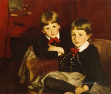 children Canvas - Portrait of Two Children aka The Forbes Brothers John Singer Sargent