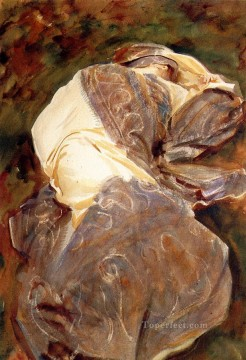 Reclining Figure John Singer Sargent Oil Paintings