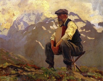 Reconnoitering John Singer Sargent Oil Paintings