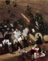 Rehearsal of the Pas de Loup Orchestra at the Cirque dHiver John Singer Sargent