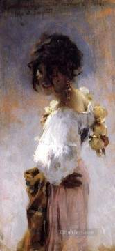 Rosina John Singer Sargent Oil Paintings
