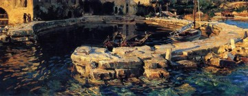 San Vigilio Lake Garda John Singer Sargent Oil Paintings