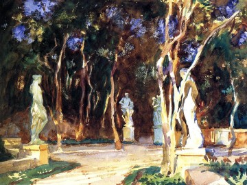 Shady Paths John Singer Sargent Oil Paintings