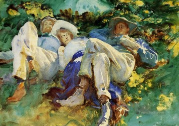 Siesta John Singer Sargent Oil Paintings