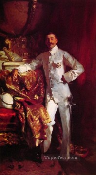 Sir Frank Swettenham John Singer Sargent Oil Paintings