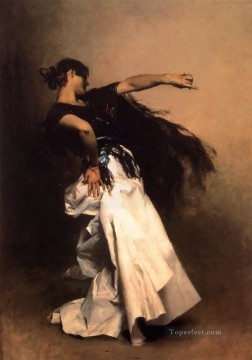 spanish spain Painting - Spanish Dancer John Singer Sargent