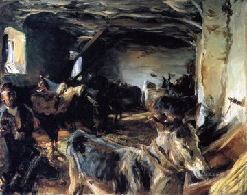 Stable at Cuenca John Singer Sargent Oil Paintings