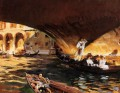 The Rialto Grand Canal John Singer Sargent