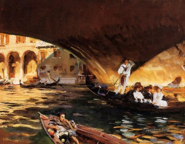 Sargent Deco Art - The Rialto Grand Canal John Singer Sargent