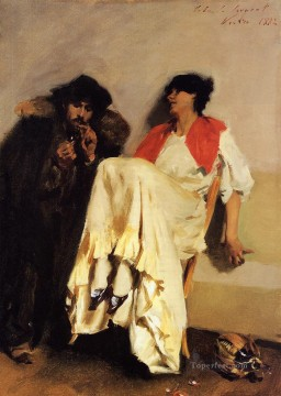 The Sulphur Match John Singer Sargent Oil Paintings