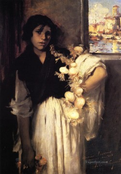 Venetian Onion Seller John Singer Sargent Oil Paintings