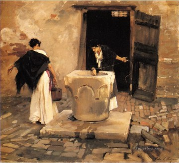 Venetian Water Carriers John Singer Sargent Oil Paintings