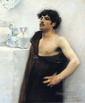 Young Man in Reverie John Singer Sargent Oil Paintings