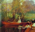 A Boating Party John Singer Sargent