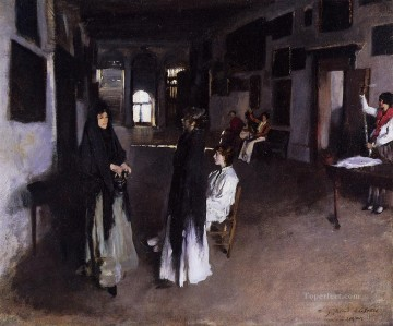 A Venetian Interior John Singer Sargent Oil Paintings
