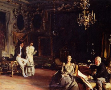 Venice Works - An Interior in Venice John Singer Sargent