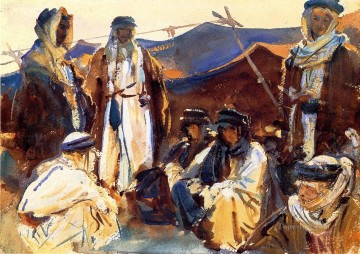 Bedouin Camp John Singer Sargent Oil Paintings