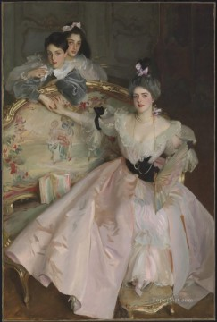 Carl Art Painting - Mrs Carl Meyer and her Children John Singer Sargent