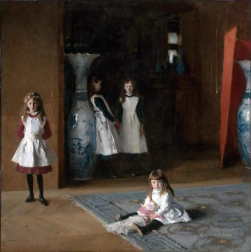 Daughters Art - The Daughters of Edward Darley Boit John Singer Sargent