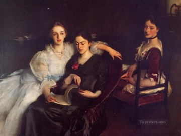 The Misses Vickers John Singer Sargent Oil Paintings
