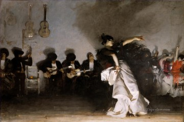 El Jaleo NI John Singer Sargent Oil Paintings