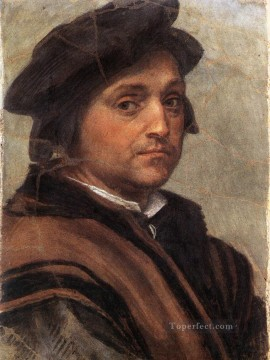 Selfportrait renaissance mannerism Andrea del Sarto Oil Paintings