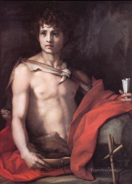 St John the Baptist renaissance mannerism Andrea del Sarto Oil Paintings