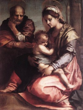 Holy Family Barberini WGA renaissance mannerism Andrea del Sarto Oil Paintings