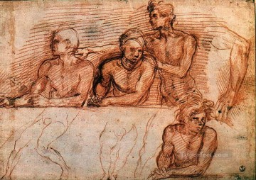 Last Supper study renaissance mannerism Andrea del Sarto Oil Paintings