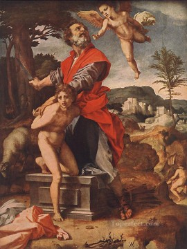 Andrea Canvas - The Sacrifice of Abraham renaissance mannerism Andrea del Sarto