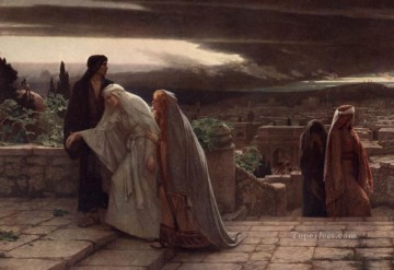 Return Art - Return from Calvary Herbert Gustave Schmalz