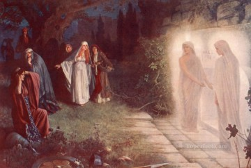 Resurrection Painting - Herbert Resurrection Morn Herbert Gustave Schmalz