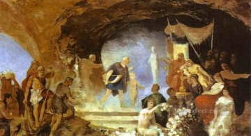 Siemiradzki Deco Art - Orpheus in the Underworld Polish Greek Roman Henryk Siemiradzki