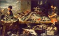 Fish Shop still life Frans Snyders
