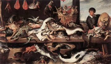 Fishmongers still life Frans Snyders Oil Paintings