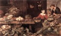 Fruit And Vegetable Stall still life Frans Snyders