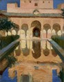 Hall of the Ambassadors Alhambra Granada GTY painter Joaquin Sorolla