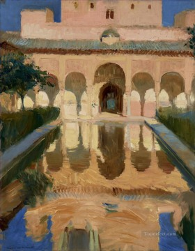Joaquin Sorolla Painting - Hall of the Ambassadors Alhambra Granada GTY painter Joaquin Sorolla