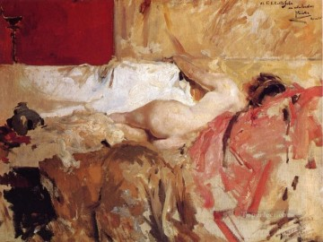 Bacante painter Joaquin Sorolla Oil Paintings