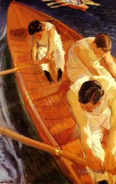 En La Yola painter Joaquin Sorolla Oil Paintings