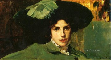 Maria Con Sombrero painter Joaquin Sorolla Oil Paintings