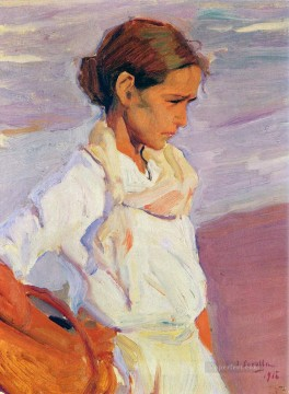 Pescadora Valenciana painter Joaquin Sorolla Oil Paintings