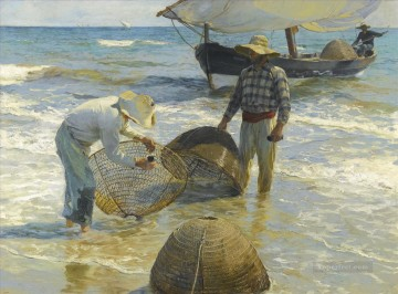 Pescadores Valencianos painter Joaquin Sorolla Oil Paintings